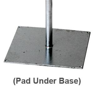 Protective Pad for Pole Base-0